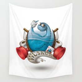 WCsaur Wall Tapestry