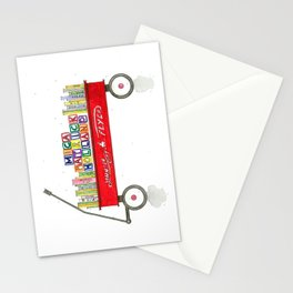 Mica Wagon Stationery Cards