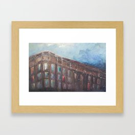 From the Ferry Framed Art Print