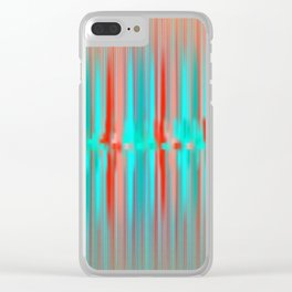 Seismic Shift Clear iPhone Case