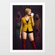 Ms Pachman Art Print