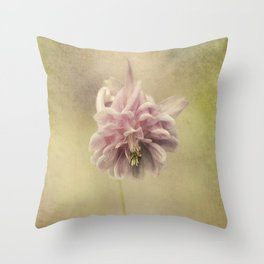 Columbine in LOVE Throw Pillow