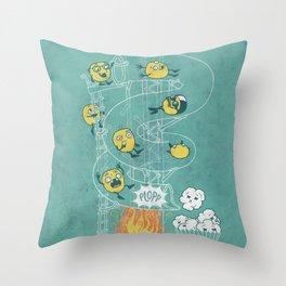 Waterslide Throw Pillow