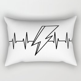 Bowie Heartbeat Rectangular Pillow