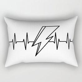 Bowie Heartbeat Rectangular Pillow