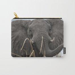 Elephant Along the Okavango River Carry-All Pouch