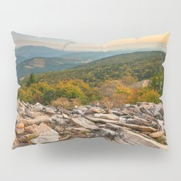 Spruce Knob Mountain Sunset Pillow Sham