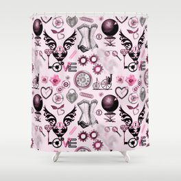 Find the key of my heart :) Shower Curtain