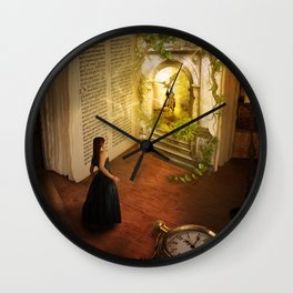 The book of dreams Wall Clock