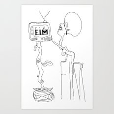 FIM FOR KNOWLEDGE Art Print