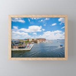 The Waterfront, Fells Point 02 Framed Mini Art Print
