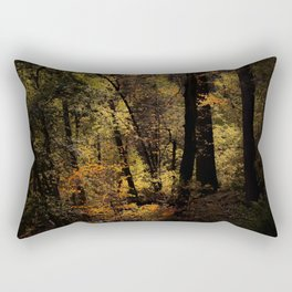 Autumn tree in the forest at Yosemite national park California USA Rectangular Pillow