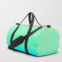 Cooling Aqua Autumn Sky Duffle Bag