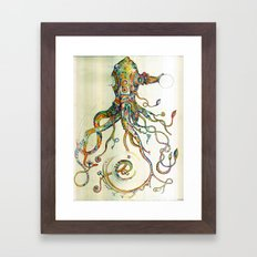 The Impossible Specimen Framed Art Print