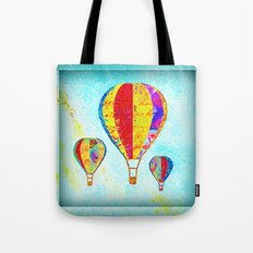 Beautiful Balloons Mosaic-Look Tote Bag