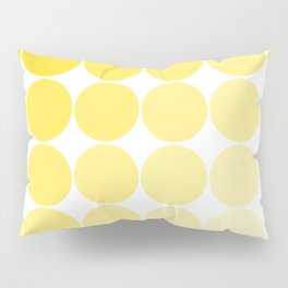 Yellow Circle Color Chart Pillow Sham