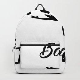 Lustiges Baby im Anflug Geschenk Schwangerschaft Backpack