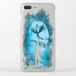 Dragon Slayer copy Clear iPhone Case