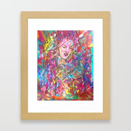 Iconic Pink Framed Art Print