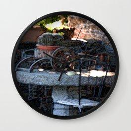 Spanish Cactus  Wall Clock