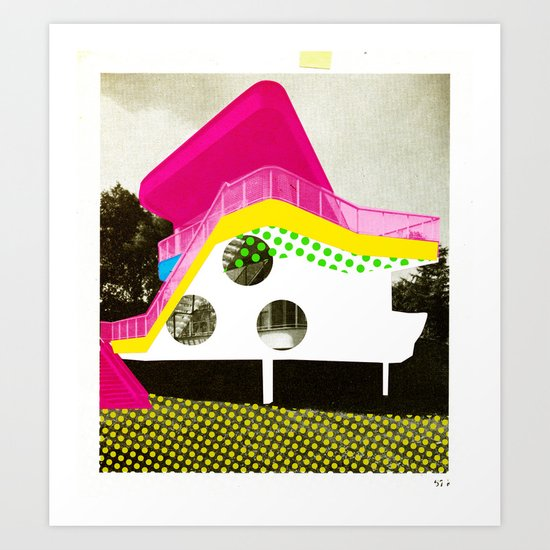 BauHaus 3 Art Print