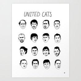 United cats Art Print