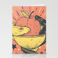 solid Stationery Cards featuring Liquid and Solid by andbloom