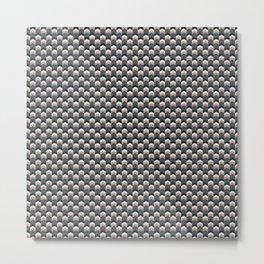 Chevron pattern compact Metal Print