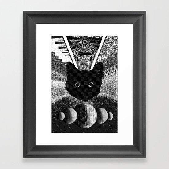 witch 2 Framed Art Print