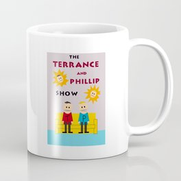 The Terrance and Phillip Show Poster Coffee Mug