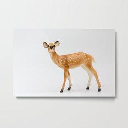 Miss Deer Metal Print