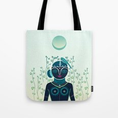 Indian woman Tote Bag