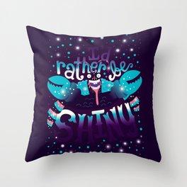 Shiny v2 Throw Pillow