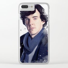 Sherlock Clear iPhone Case