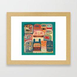 Instant drôlatique-8h37  Framed Art Print