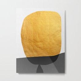 Conceptual and golden IV Metal Print