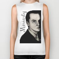 moriarty Biker Tanks featuring Moriarty by LiseRichardson