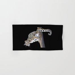Clouded Leopard Hand & Bath Towel