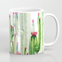Green Cactus Field Coffee Mug