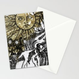 Glamour Tarot The Sun Stationery Cards