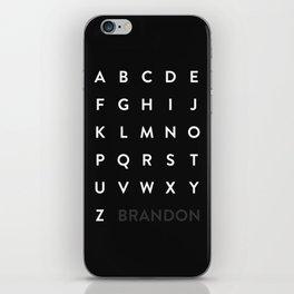 Brandon Grotesque iPhone Skin