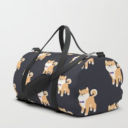 Formal Shiba Inu Duffle Bag