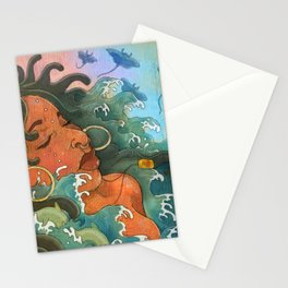 Water Maiden Stationery Cards