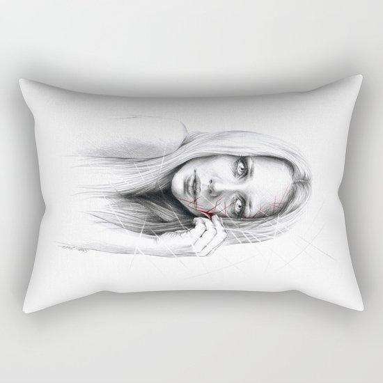 Self-destruction: expose Rectangular Pillow