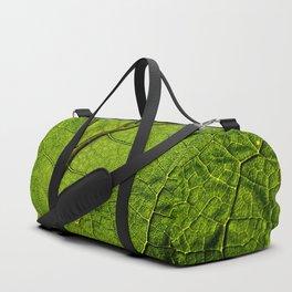 Green Veins Duffle Bag
