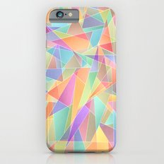 The Geometric Glass Shatter iPhone 6s Slim Case