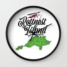 Rottnest island Australia Wall Clock