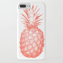Coral Pineapple iPhone Case