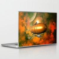 led zeppelin Laptop & iPad Skins featuring Zeppelin  by nicky2342