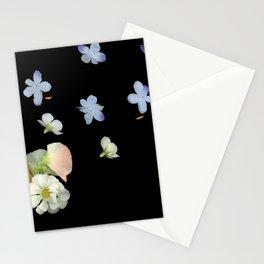Sweet Pea, Daisy, Hydrangea Glitch Stationery Cards